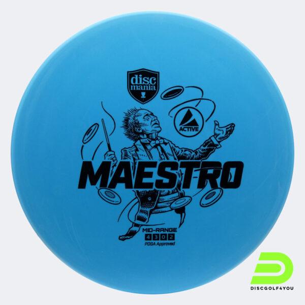 Discmania Maestro in Active Plastik in blau