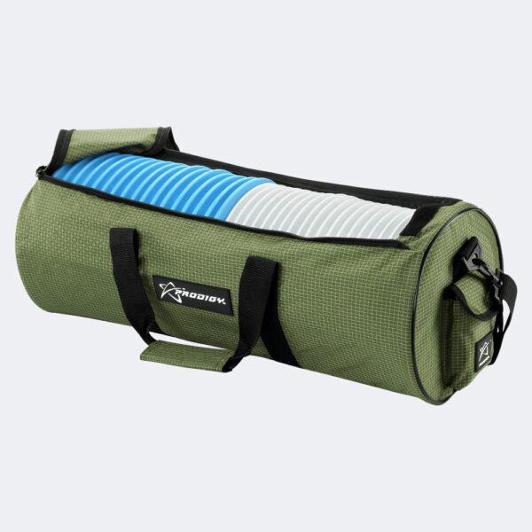 Prodigy Practice Bag V2 in grün Schrägansicht