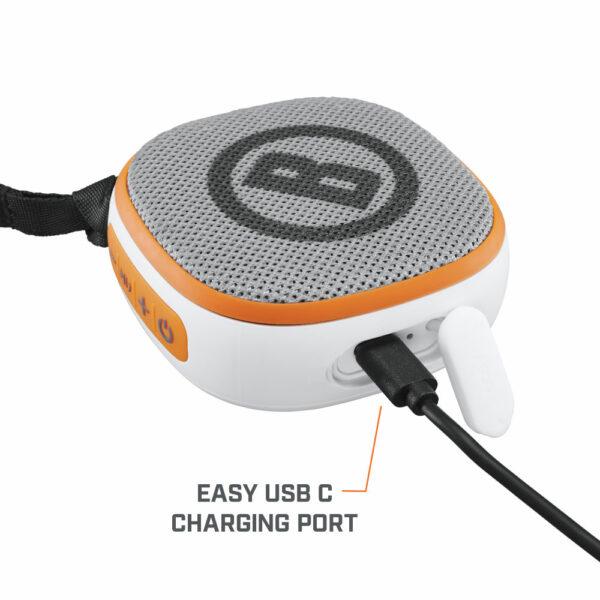 Bushnell Disc Jockey Bluetooth Speaker beim Laden