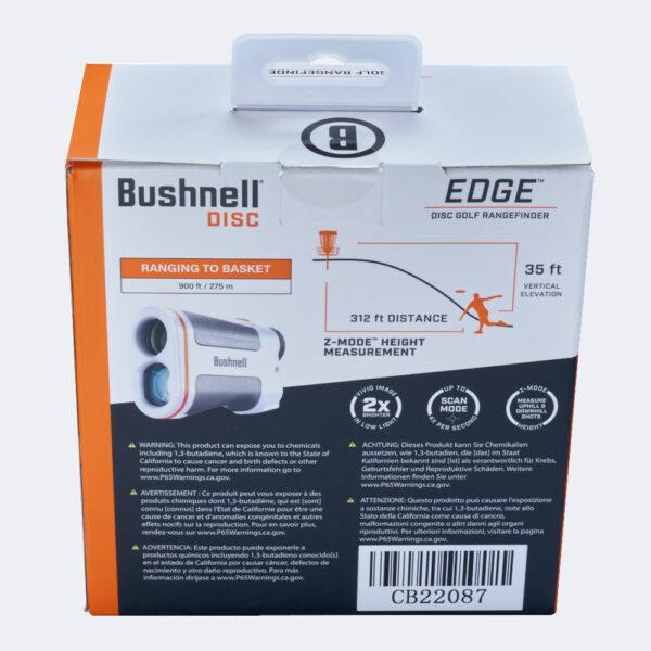 Bushnell Edge Rangefinder Verpackung hinten